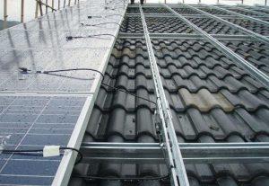 Zinc-magnesium-aluminum alloy assembled photovoltaic bracket