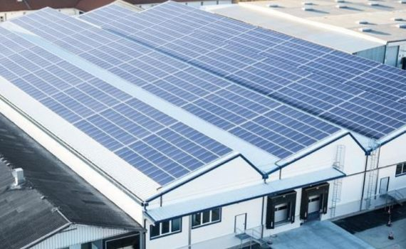 Factory roof solar PV