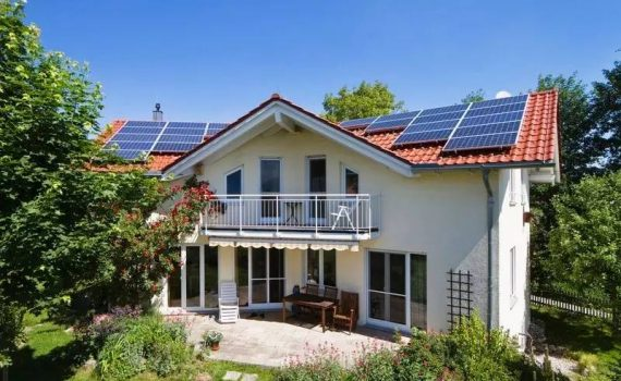 Private house solar PV2